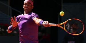 Nadal debutará contra Sinner en el Masters 1000 de Roma
