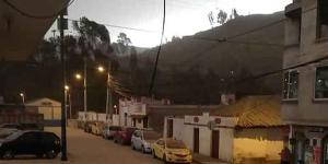 Cuatro cantones continúan afectados por la caída de ceniza del volcán Sangay